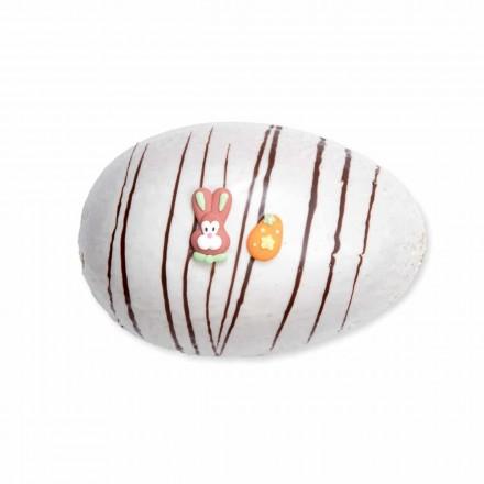 Mandelsand Ei Weiß