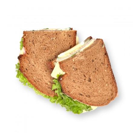 Pausenbrot Schinken Käse