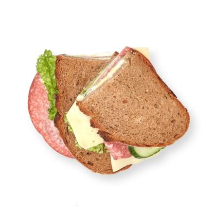 Pausenbrot Salami Käse