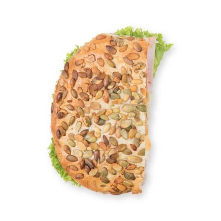 Fladenbrot Schinken Käse