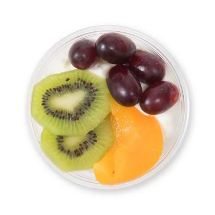 Quark mit Früchten